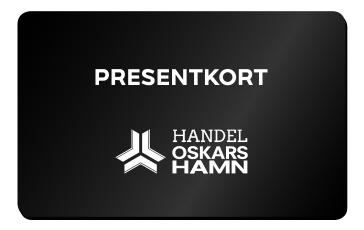 Bild på Presentkort i Handel Oskarshamn.
